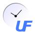 Logo van het UF
